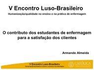 V Encontro Luso-Brasileiro