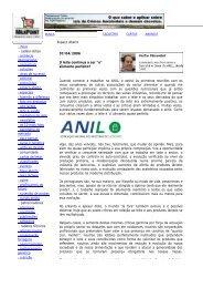 O Leite Continua a Ser - ANIL - Associação Nacional dos Industriais ...