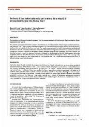 Confronto di due sistemi automatici per la misura della ... - SIBioC