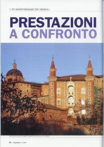 PRESTAZIONI | A CONFRONTO