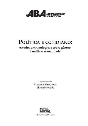 Política e cotidiano - ABA