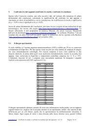 5. Confronto tra dati appaiati (confronto tra medie e confronto tra ...