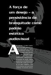 a persistência da branquitude como padrão estético audiovisual - USP