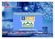 Projeto Norte Competitivo - Fiemt