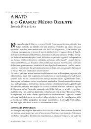 A nato eo Grande Médio Oriente Bernardo Pires de Lima no - SciELO