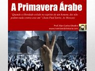 ATUALIDADES – A Primavera Árabe I