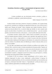 Jornalismo, literatura e política: a modernização - Latinoamericano