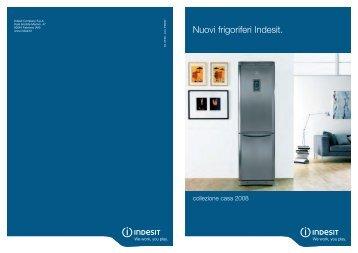 Nuovi frigoriferi Indesit.