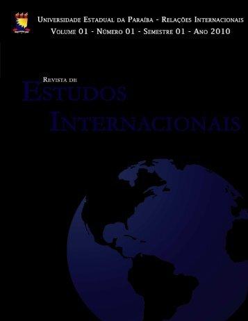 revista de estudos internacionais - rei