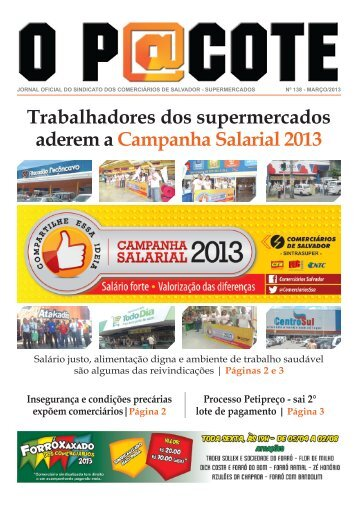 Jornal O Pacote - Sindicato dos Comerciários de Salvador