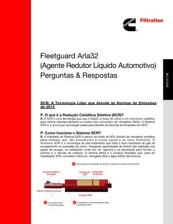 Agente Redutor Líquido Automotivo - cumminsfiltration.com