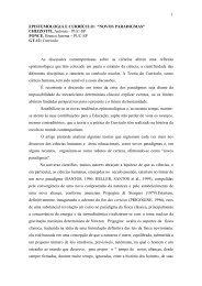 """epistemologia e currículo: """"novos paradigmas"""" - ANPEd"""