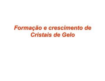 Capitulo 6 - Formação e crescimento de Cristais de Gelo - storm-t