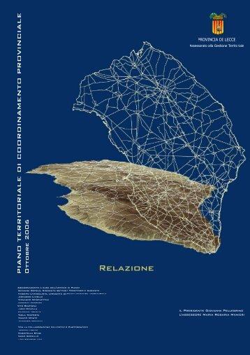 relazione integrativa - Provincia di Lecce