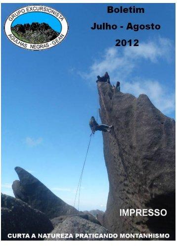 Julho e Agosto - Grupo Excursionista Agulhas Negras