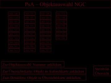 PsA – Objektauswahl NGC - Astronomische Vereinigung Augsburg ...