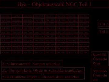 Hya – Objektauswahl NGC Teil 1 - Astronomische  Vereinigung ...