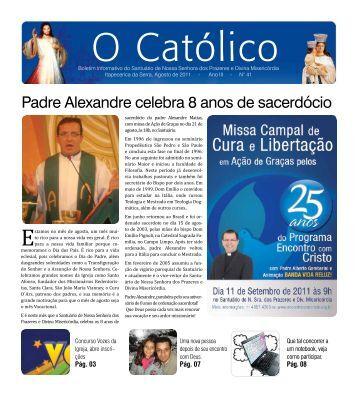 Edição Nº41 10/08/2011 - Santuário Nossa Senhora dos Prazeres