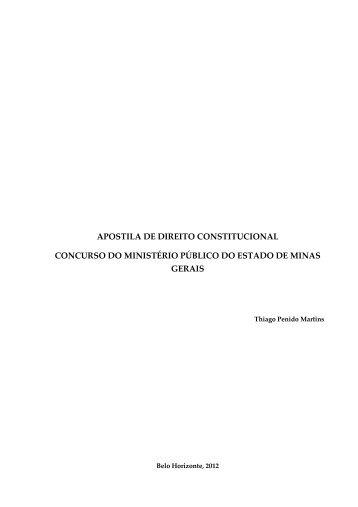 Apostila - Direito Constitucional - Aprobare - Approbare