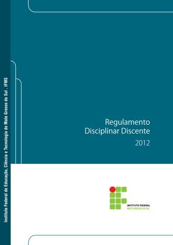 Regulamento Disciplinar Discente - IFMS