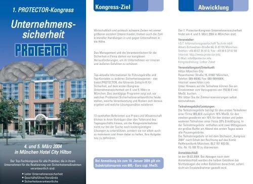 Unternehmens- sicherheit - bc - Arendt Business Consulting