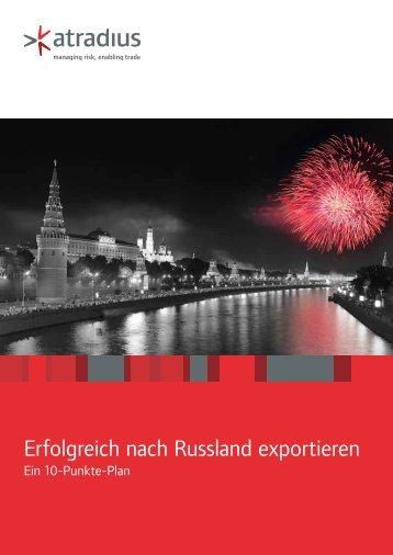 Erfolgreich nach Russland exportieren