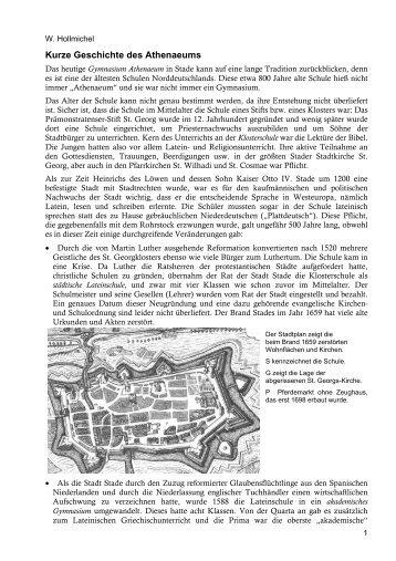 Kurze Geschichte des Athenaeums - Athenaeum Stade