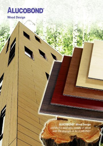 ALUCOBOND Wood Design