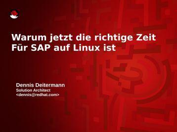 Red Hat SAP