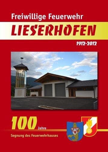 Festschrift 100 Jahre FF Lieserhofen