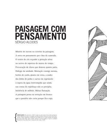 PAISAGEM COM PENSAMENTO - Secretaria de Estado de Cultura ...