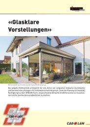 «Glasklare Vorstellungen» - Atrium-Design AG