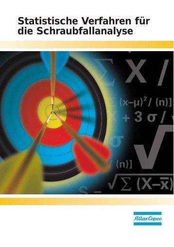 Statistische Verfahren für die Schraubfallanalyse - Atlas Copco
