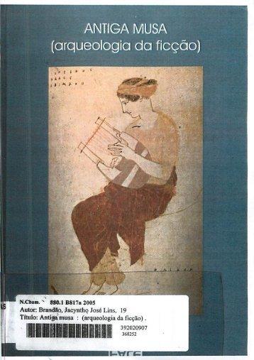 Antiga Musa - Arqueologia da Ficção - FALE - UFMG