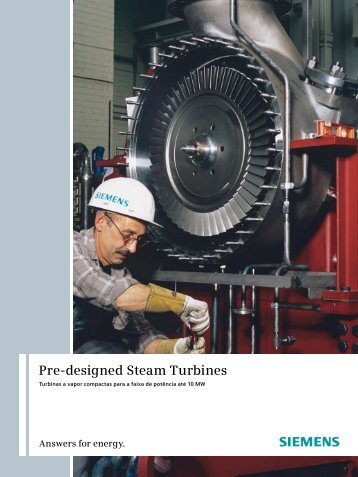 Pre-designed Steam Turbines - Siemens Energy