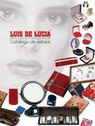 Novo catálogo de estojos clique e faça o download - Luis de Lucia ...