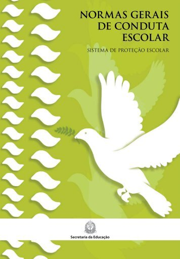 NORMAS GERAIS DE CONDUTA ESCOLAR - Governo do Estado ...