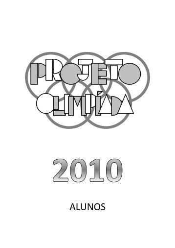 baixe o material alunos - Projeto Olimpíada