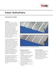 Kalzip® AluPlusPatina