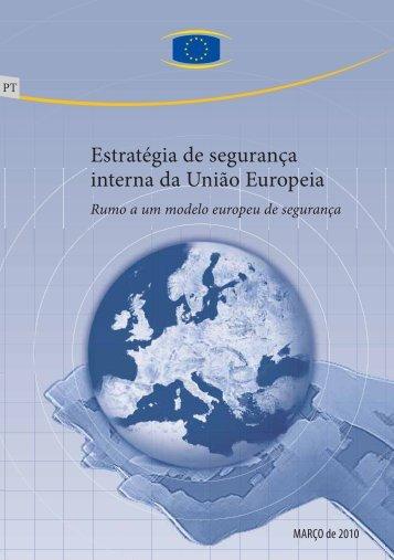 Estratégia de segurança interna da União Europeia - Europa