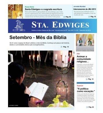 STA. EDWIGES - Paróquia Santuário Santa Edwiges