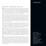 summary paul picot the elegant collection