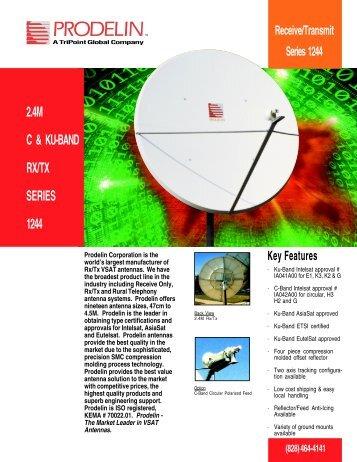 2.4M C & KU-BAND RX/TX SERIES 1244
