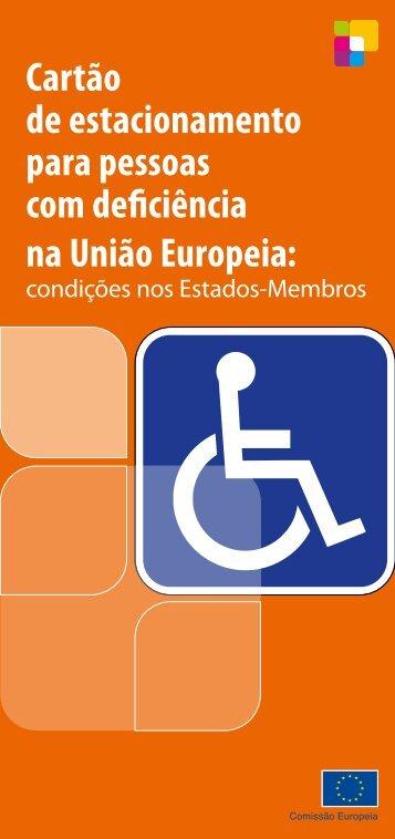 Cartão de estacionamento para pessoas com deficiência ... - Europa