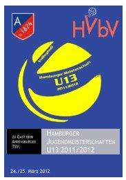 Hamburger Jugendmeisterschaften U13 2011/2012 - Ahrensburger ...