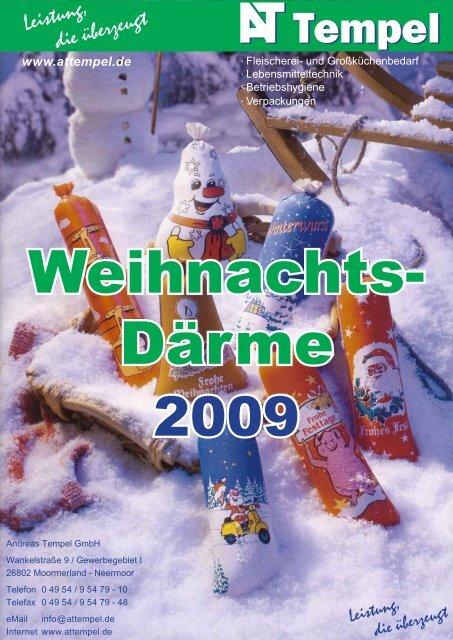 AT Weihnachtsprospekt 2009.indd - AT Tempel