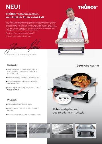 THÜROS® Cater/minicater: Vom Profi für Profis ... - HAJO BBQ