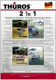 2 in 1 Werbeblatt Profigrill Gas und Holzkohlebetrieb 08 - AT Tempel