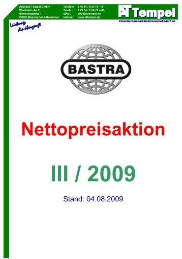 AT-Bastra-Nettopreisaktion 2009-III - AT Tempel