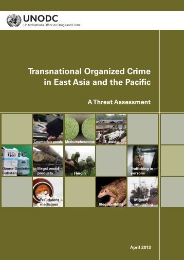 Transnational Organized Crime in East Asia and the Pacific